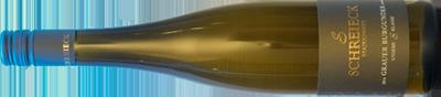 große Weine-Flasche