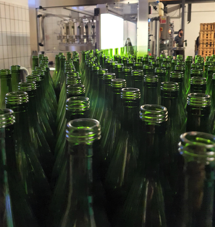 Füllung Flaschenmeer